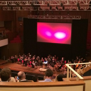 Audience at the Colston Hall