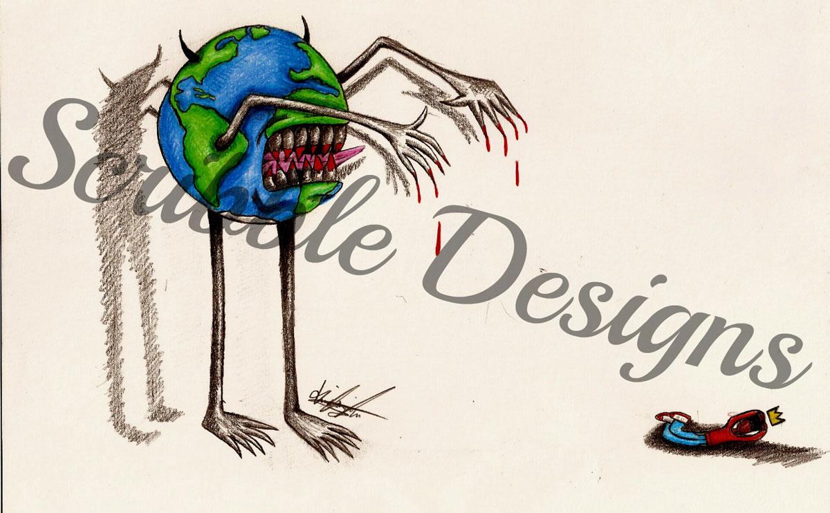 Copyright, Scribble Designs