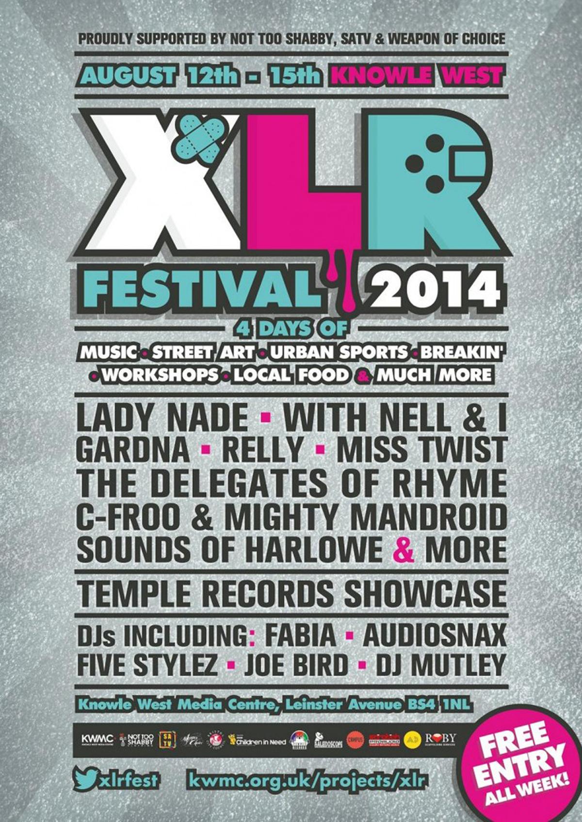 Credit: XLR Festival