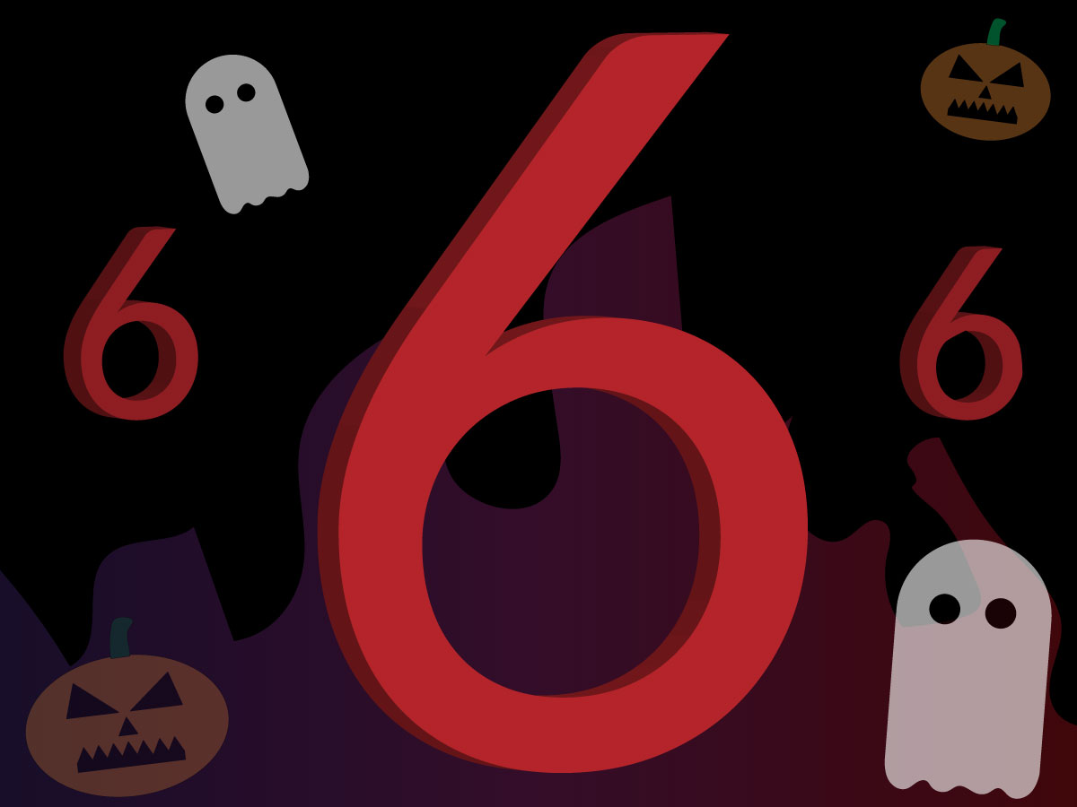 Spooky sixes