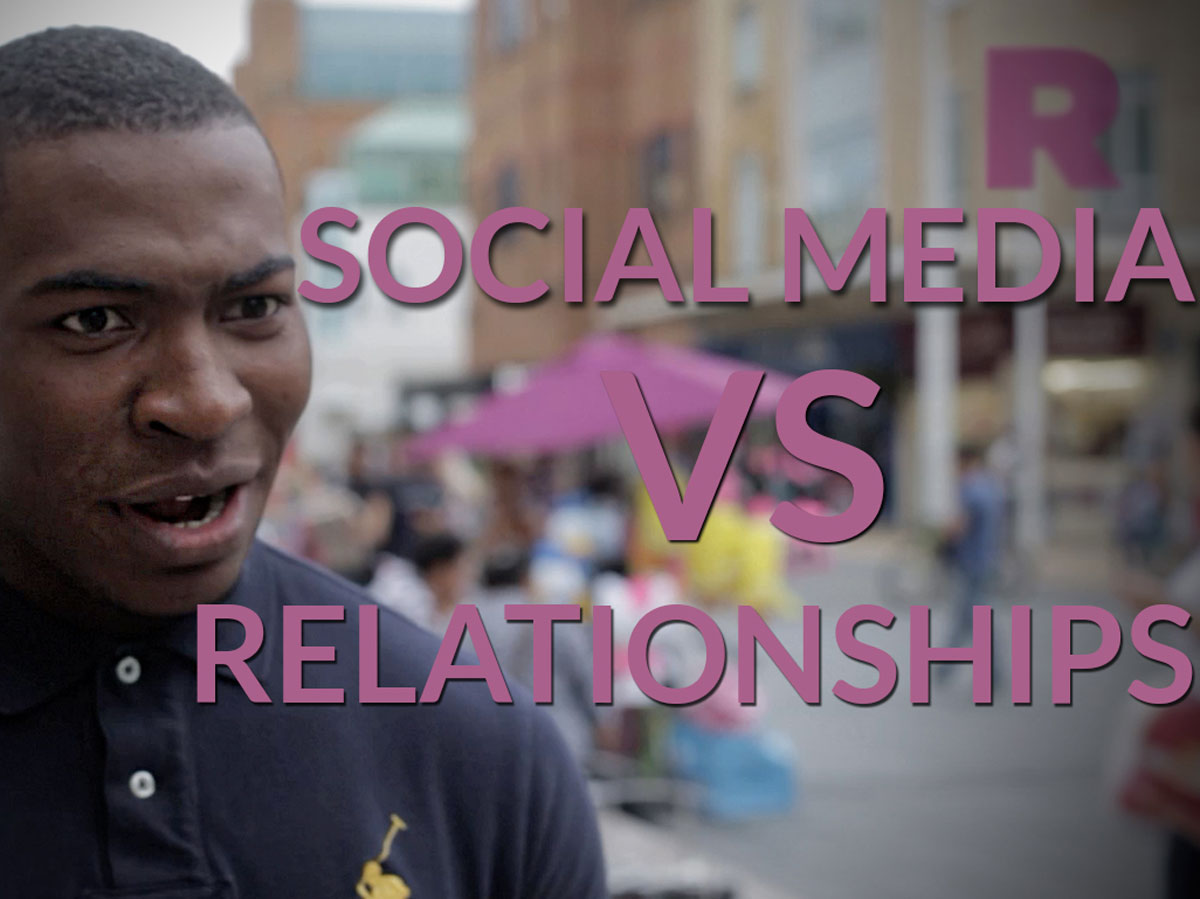 Social media vs Relationships