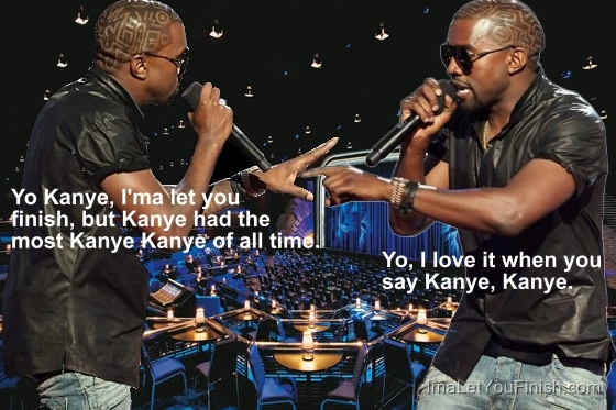 Kanye west confessing to kanye west about how much he kanye west's himself