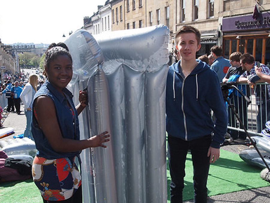 Rondene Vassell and James Gibson, Bristol Youth Mayor