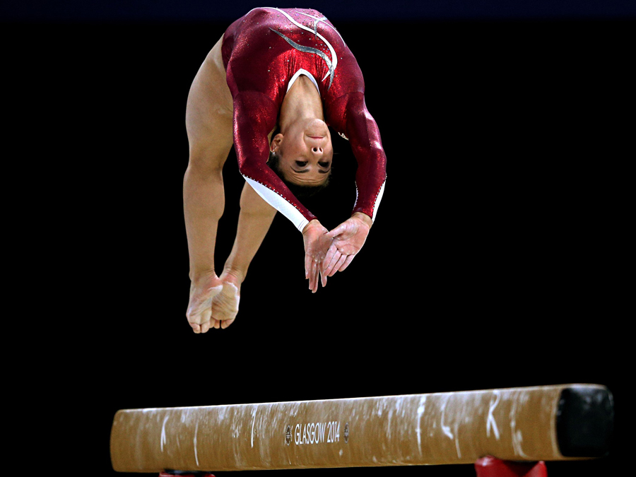 Claudia Fragapane: most successful gymnast in the country