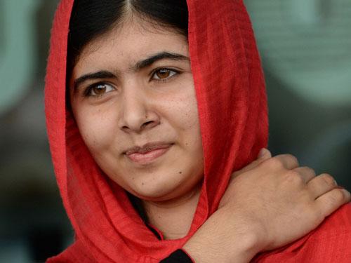Portrait of Malala