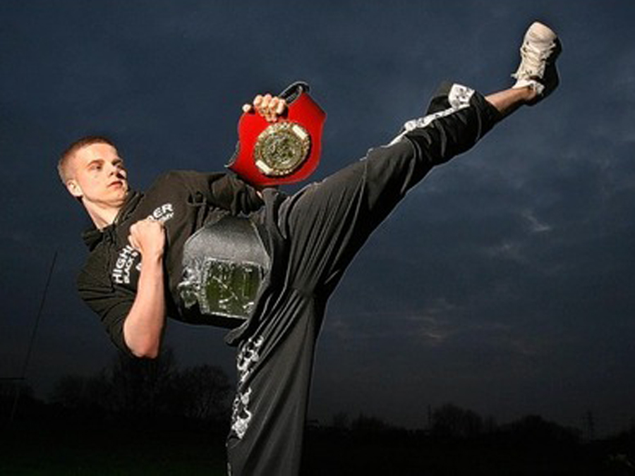 Ryan Edmundson: world-beating kick boxer