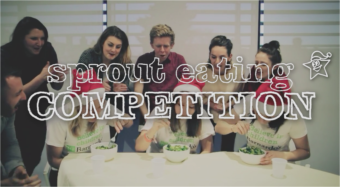 Sprout eating competition
