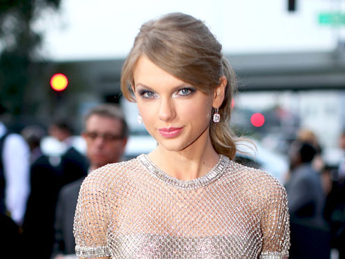 Portrait of Taylor Swift