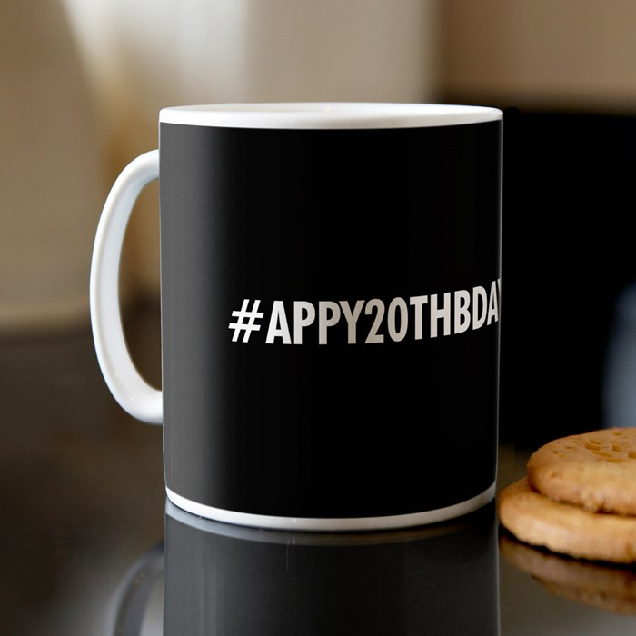 a personalised mug
