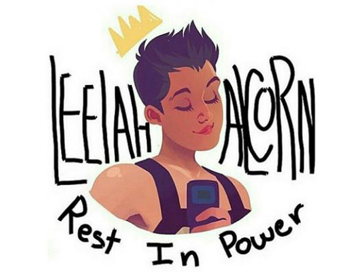 Drawing of Leelah Alcorn