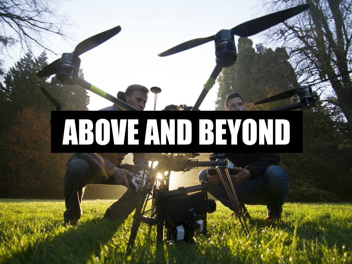 Recap dan higginson 39 s how to get your film company for Above and beyond
