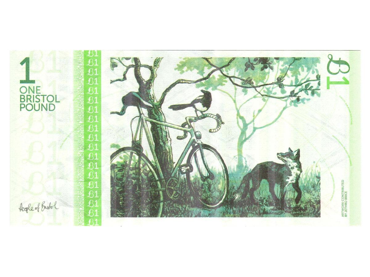 A Bristol £1 note
