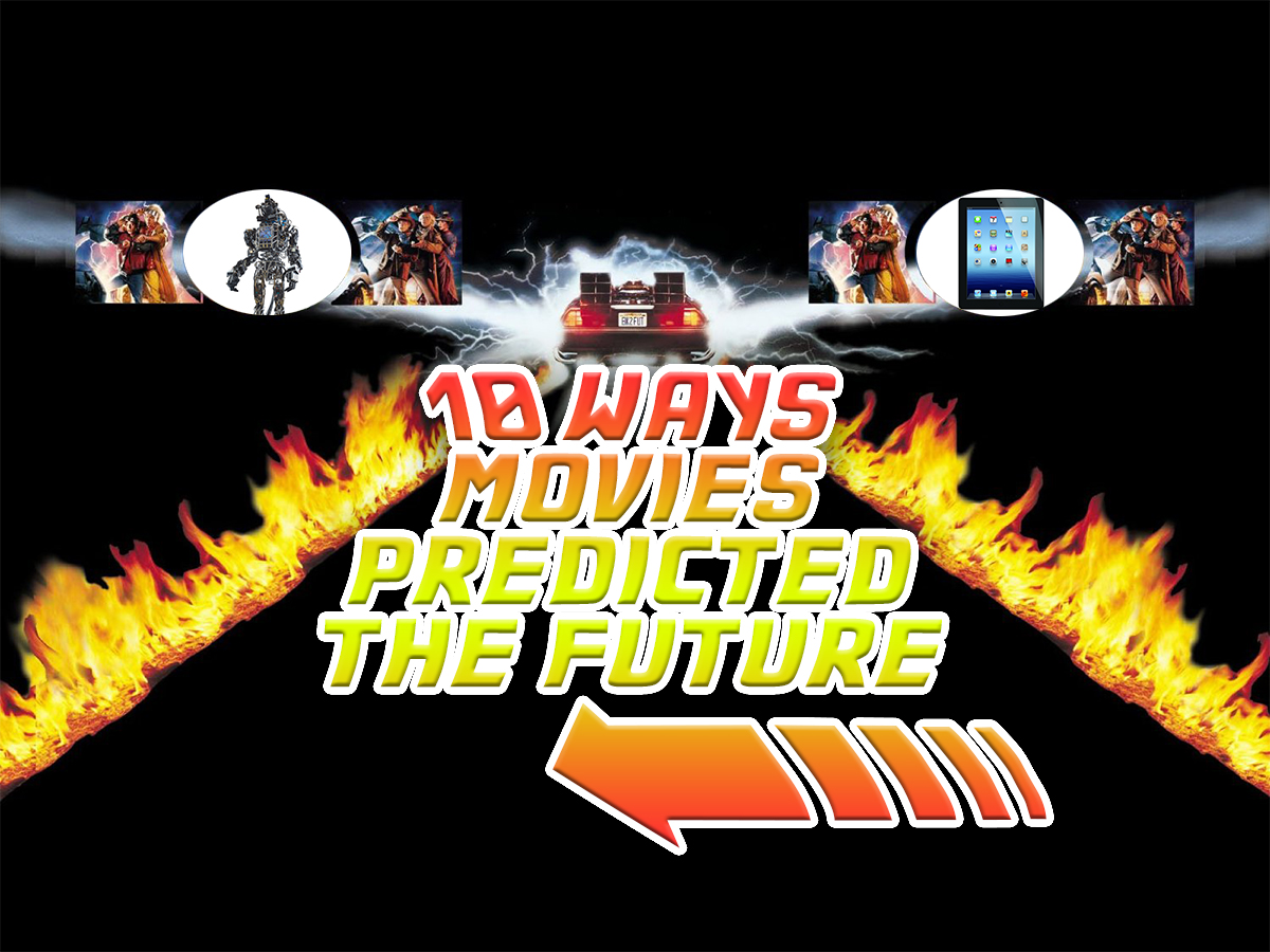 10 ways movies predicted the future