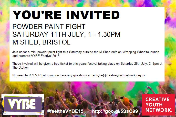 2015 Vybe Powder Paint Fight