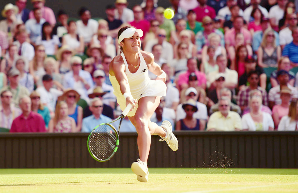 Heather Watson at Wimbledon. source: breakfast-at-wimbledon.tumblr.com