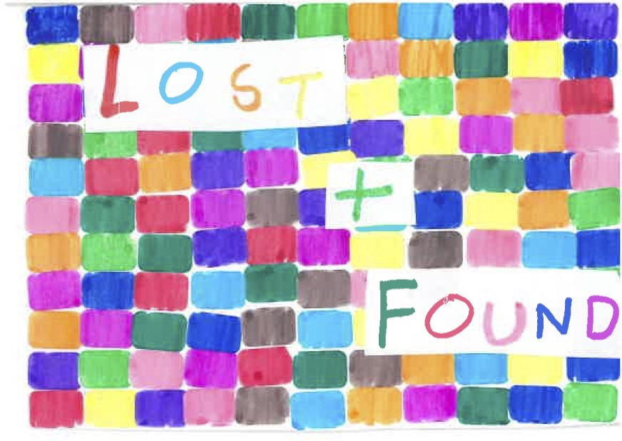 'Lost and Found' Postcard, by Trevin