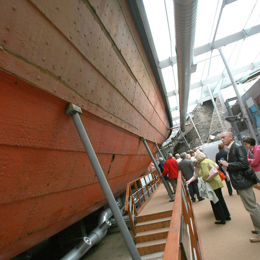 Monday: find out about conservation at the ss Great Britain