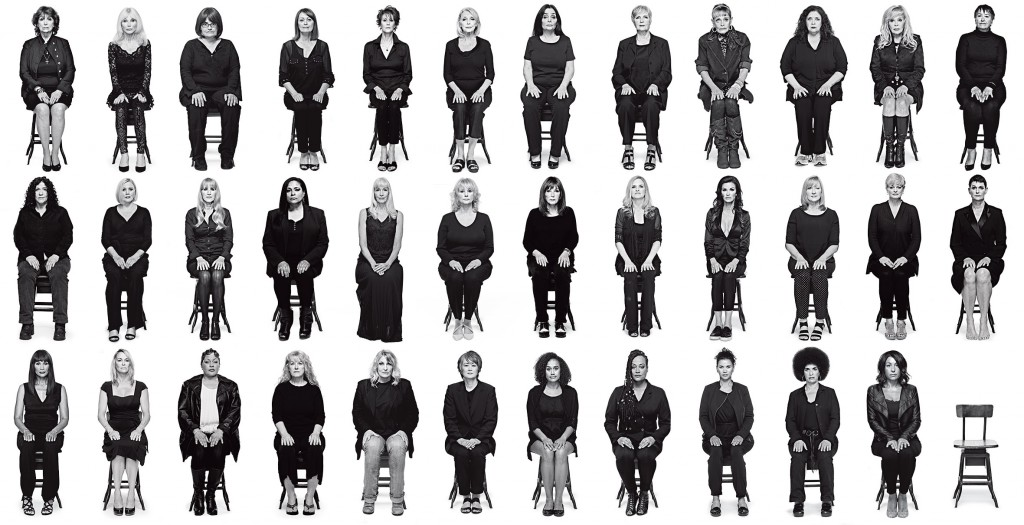 35 Cosby Assault Victims. Source: nymag.com