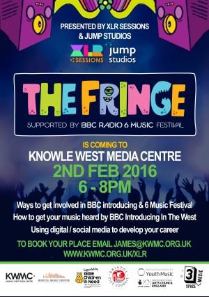 The Fringe Masterclass banner - KWMC