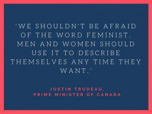 Trudeau on feminism