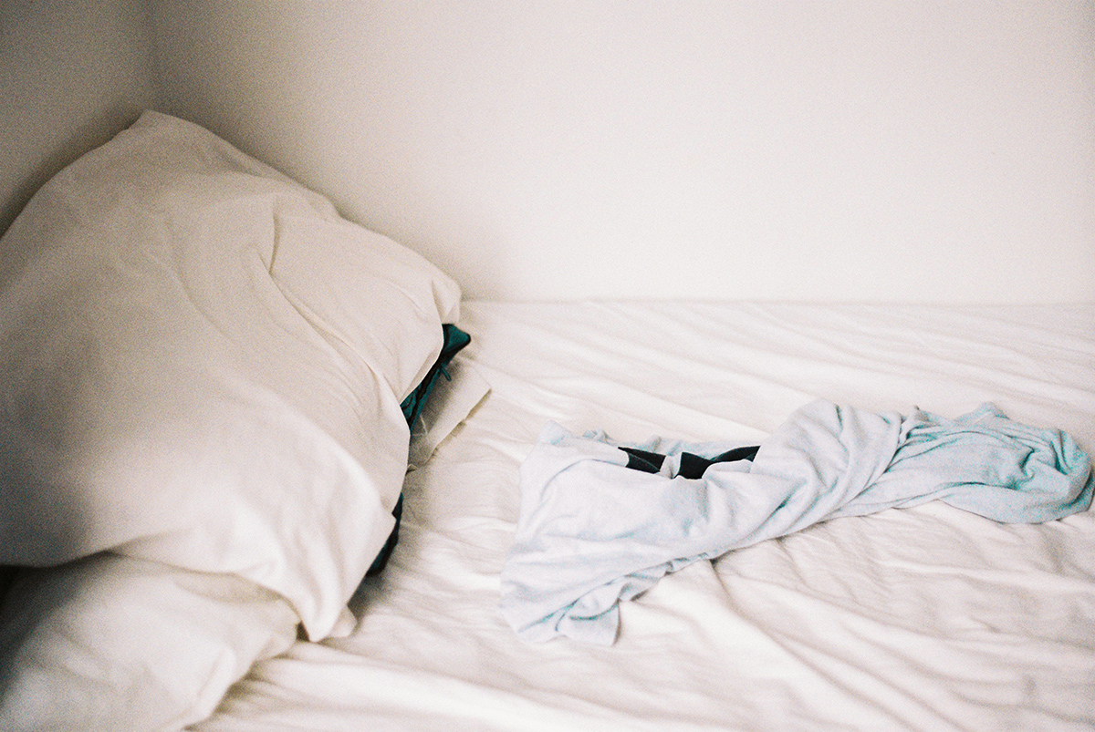 (Credit: Ailsa Fineron) Having your bed flooded with natural light is a wonderful way to wake up in the morning.
