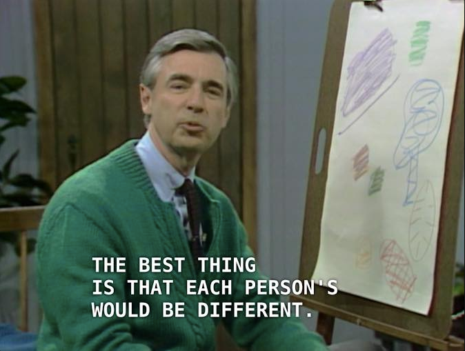 Source: Fred McFeely Rogers, Mr Rogers' Neighbourhood