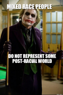 The Joker knows.