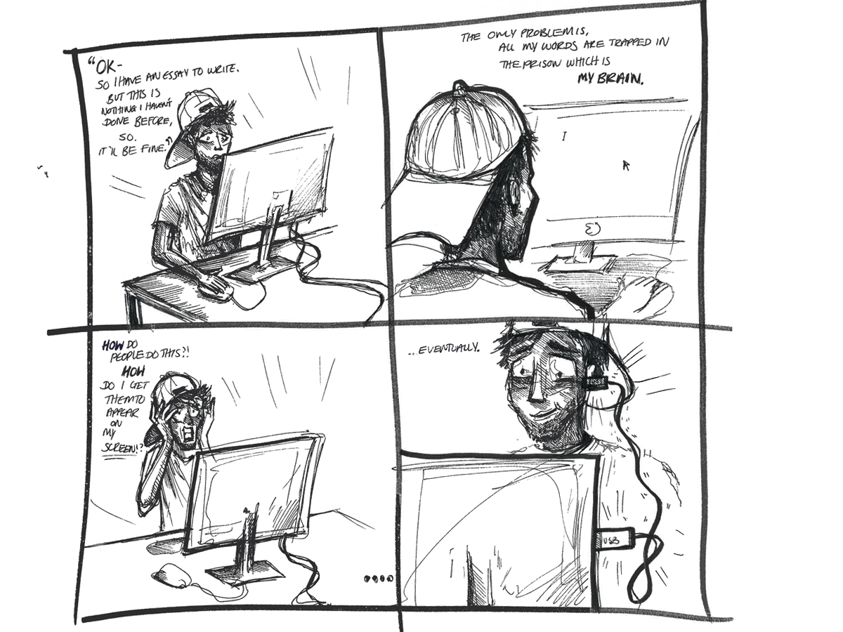 """Damn Daniel"" -Illustration by Jasmine Thompson"