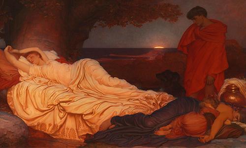 Frederic Leighton's Cymon and Iphigenia