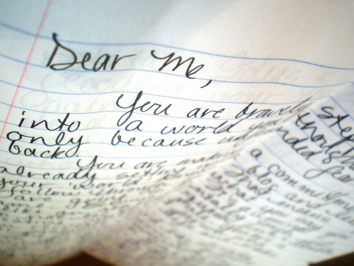 Write a letter to myself