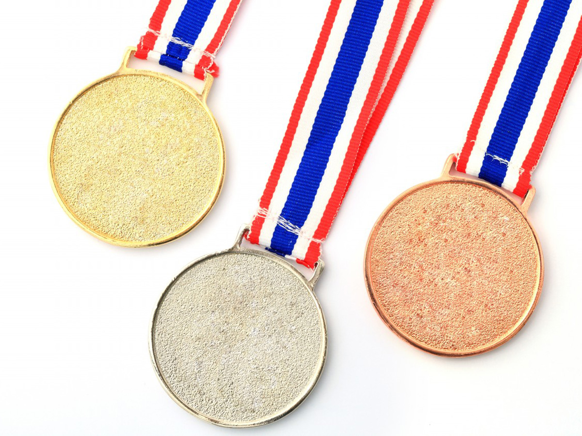 Gold-silver-bronze-Medal-Ribbon-for-1-2-3-place