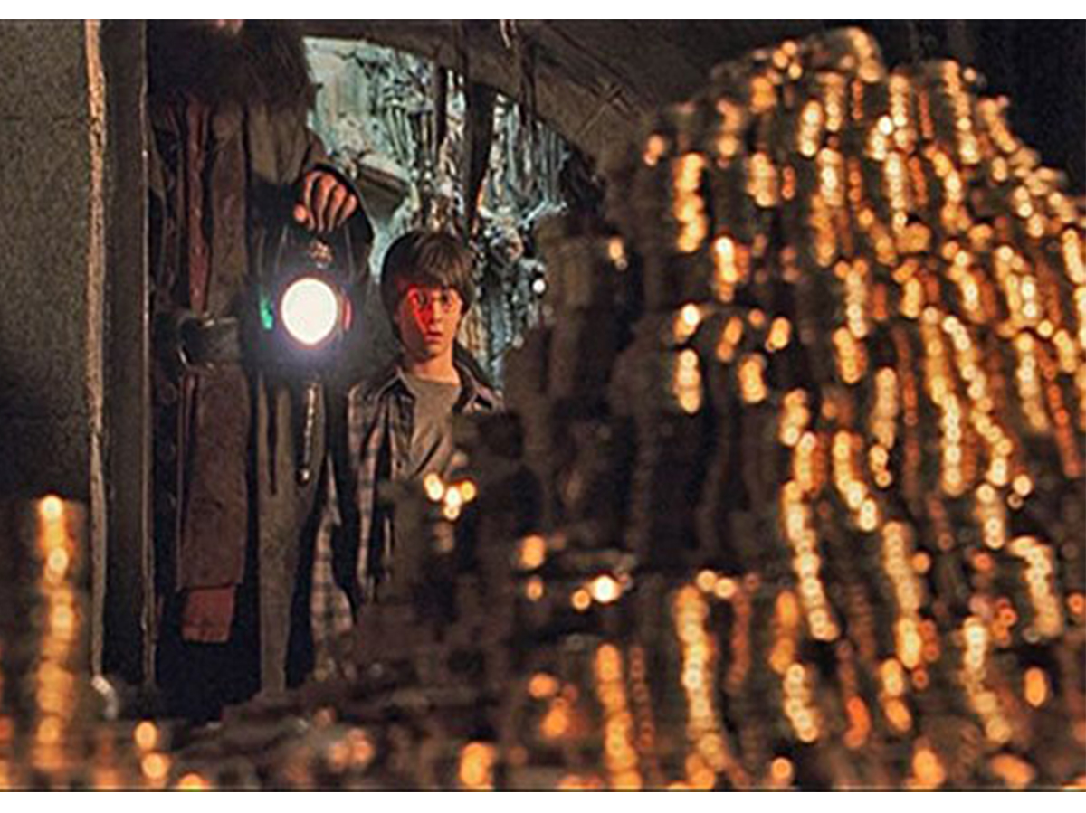 Harry Potter and the philosophers stone. Warner Bros' pictures