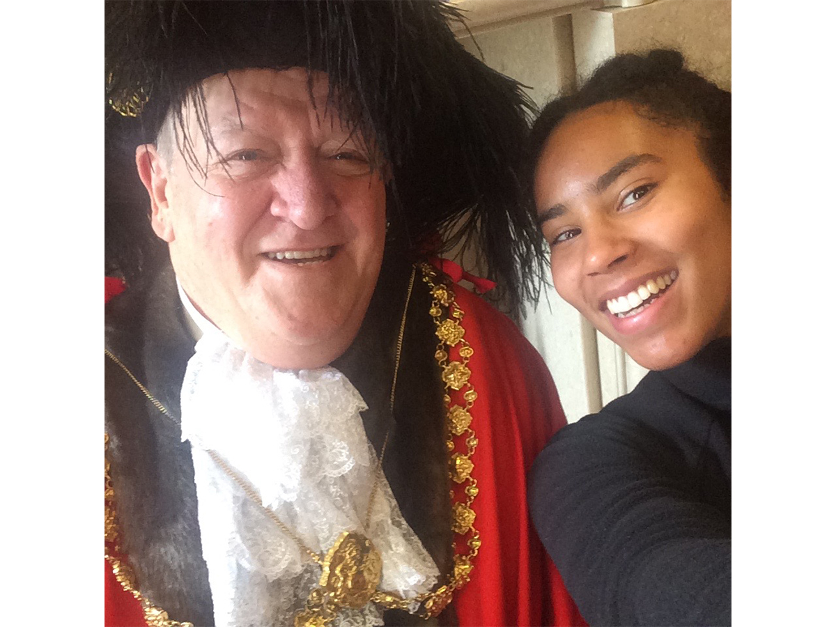 selfie with lord mayor