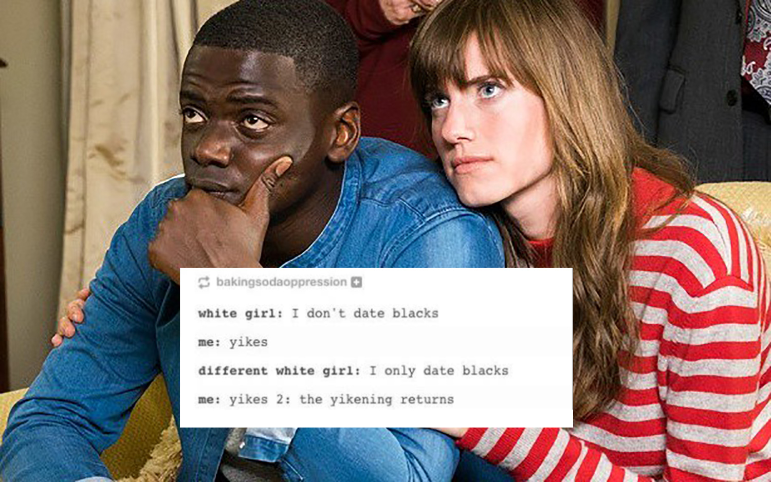 never date a black man